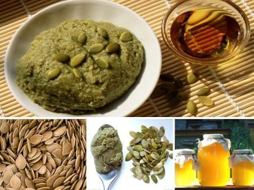 приготовление семечек тыквы с медом
