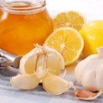 лимон чеснок мед