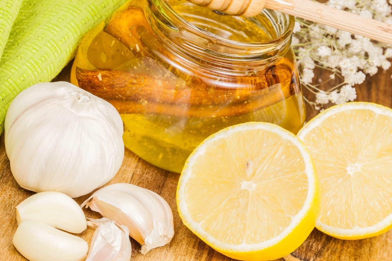Чеснок, лимон и мед от давления