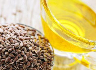 мед и семена льна