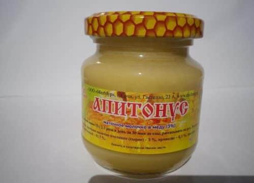 мед апитонус в банке
