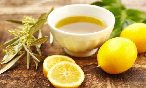 лимон и олива